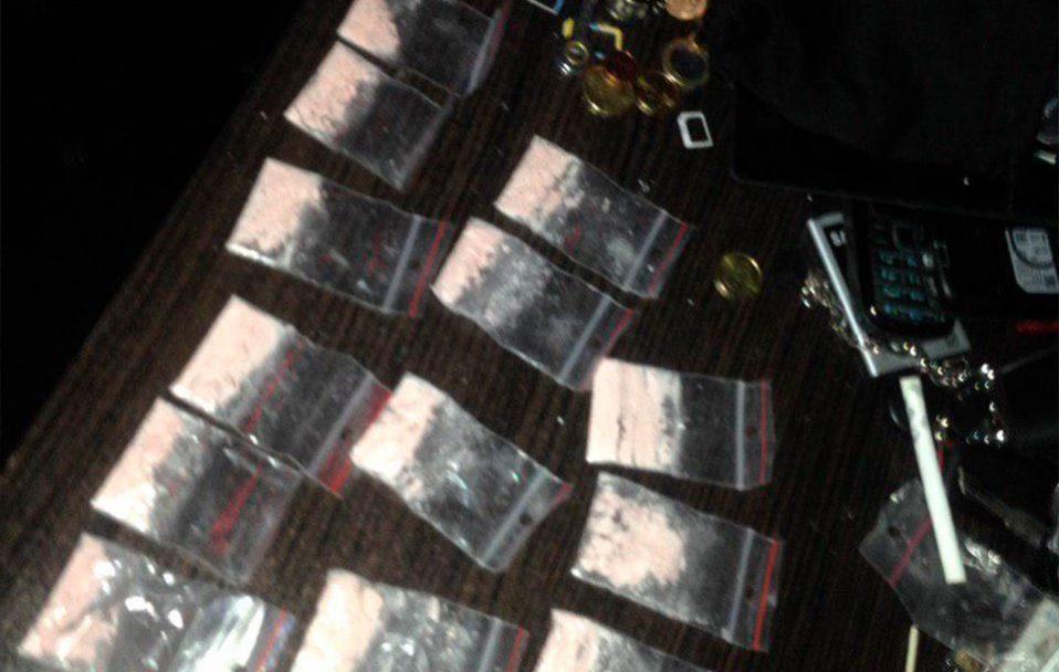 У Луцьку затримали чоловіка з 13 пакетиками амфетаміну