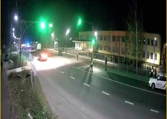 Аварія під Луцьком: пішохід заледве врятувався. ВІДЕО