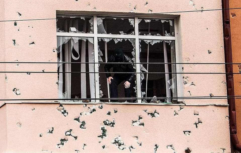 До річниці Майдану: фотодень, коли Борис Клімчук подав у відставку. ФОТО