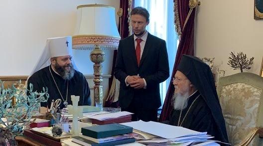Що обговорював митрополит Михаїл із Вселенським Патріархом у Стамбулі