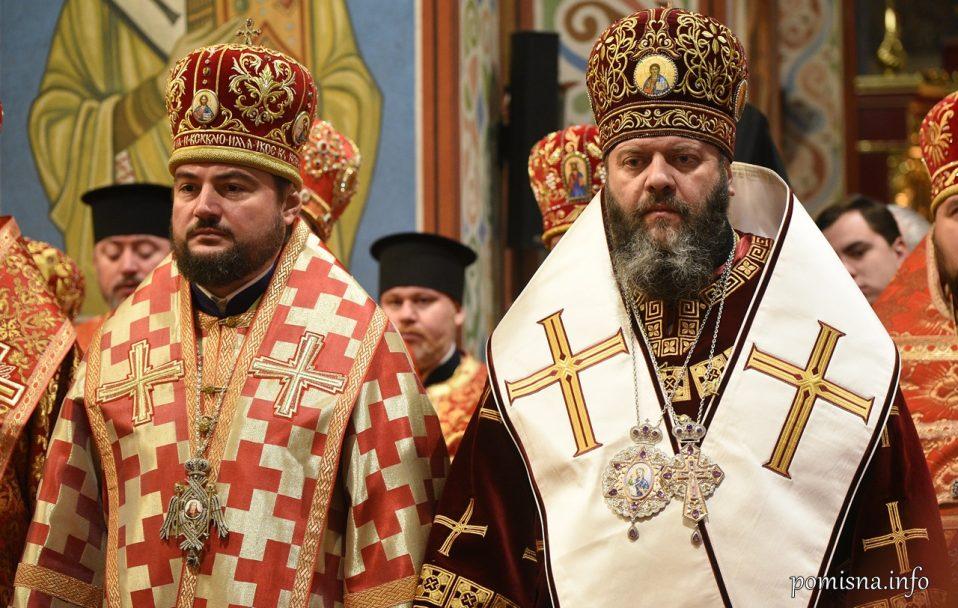 День ангела митрополит Михаїл відзначив у столичному Михайлівському Золотоверхому соборі. ФОТО