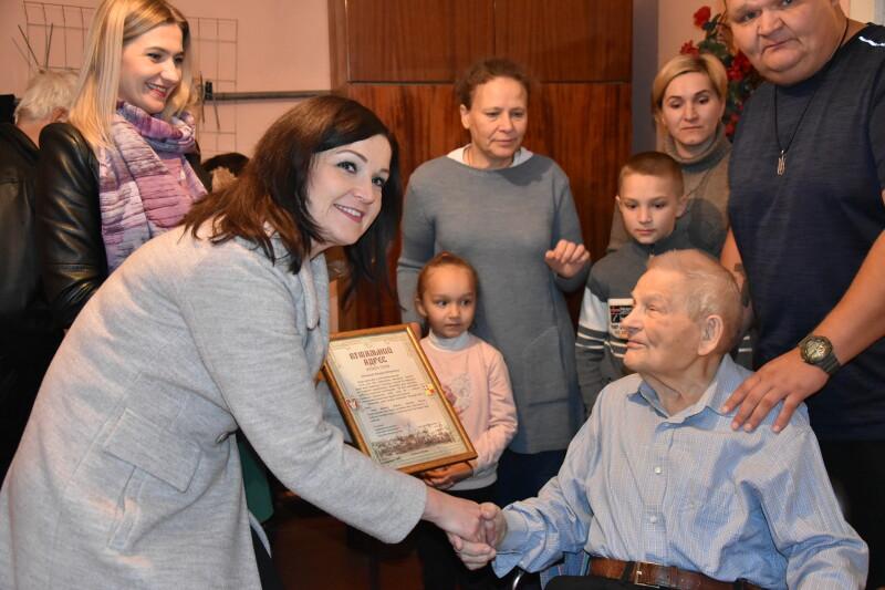 Лучанин відзначив 100-літній ювілей. ФОТО