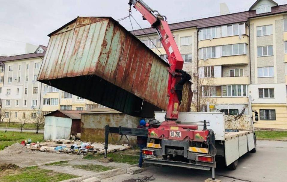 Муніципалам у Луцьку дали 2 000 000 гривень на знесення сараїв і гаражів