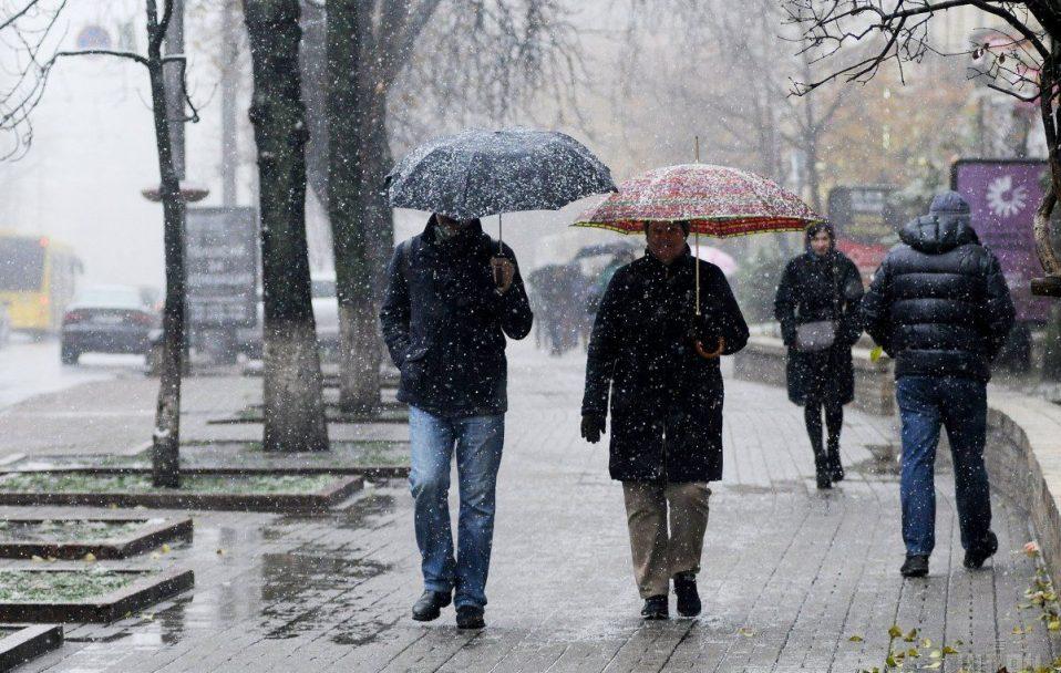 Останні дні січня на Волині будуть з мокрим снігом та дощем