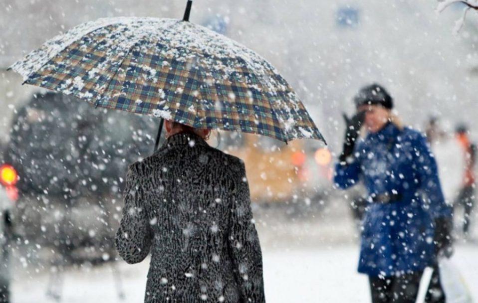 Волинь накриють дощі та мокрий сніг