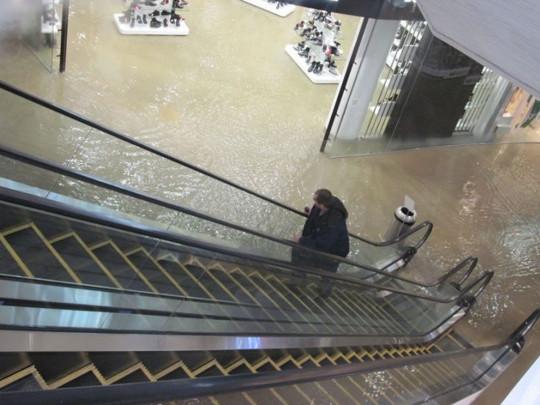У Києві залило окропом великий торговий центр, є постраждалі. ФОТО. ВІДЕО