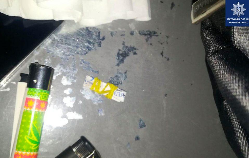У Луцьку зловили чоловіка з наркотиками. ФОТО