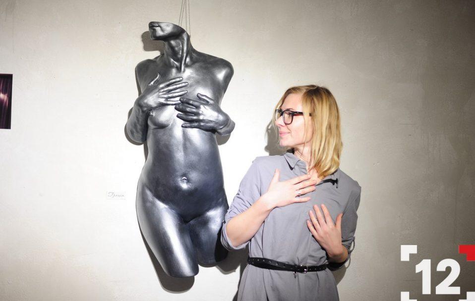 У Луцьку презентували оригінальну виставку відвертих скульптур. ФОТО