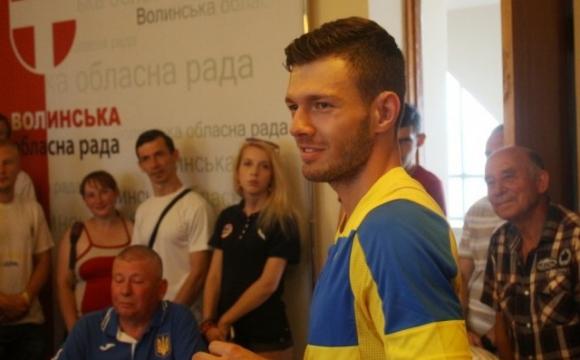 Президент призначив стипендію волинському спортсмену