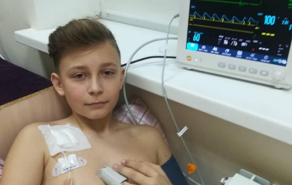13-річний волинянин потребує термінової допомоги