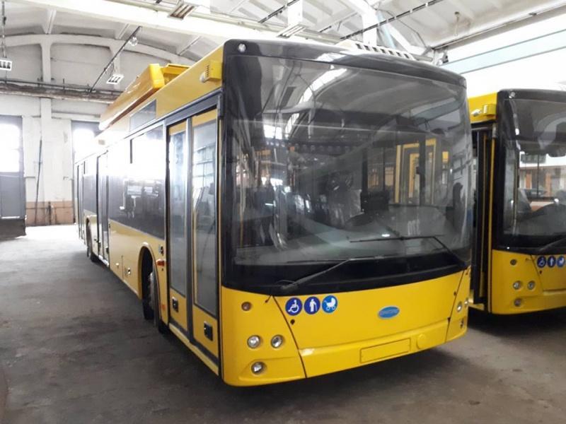 У Луцьку з'являться нові тролейбуси