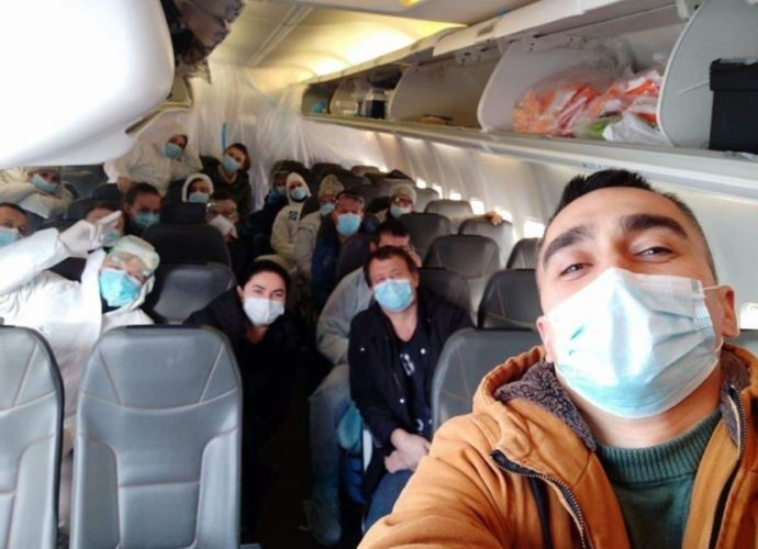 Серед евакуйованих з Китаю є волиняни