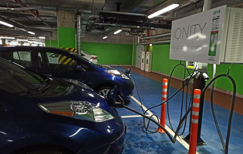 У «ПортCity» запрацювала зарядна станція для електромобілів