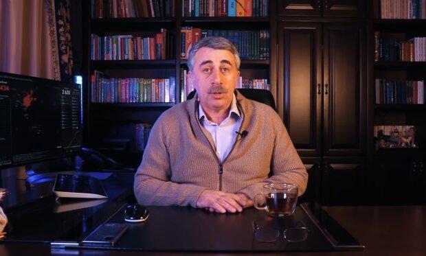 Лікар Комаровський розповів, як вберегтися від коронавірусу. ВІДЕО