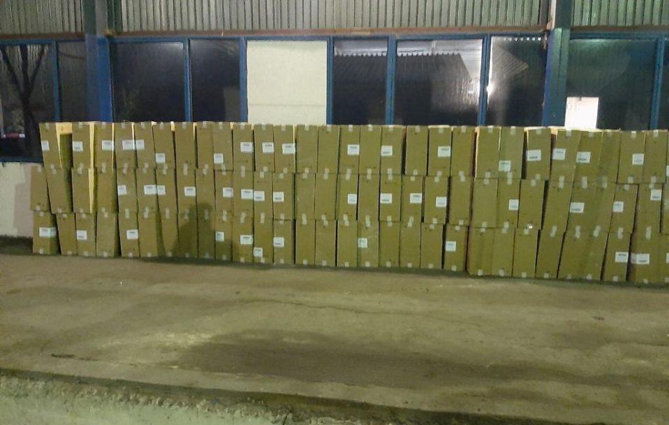 Замість піноблоків – цигарки: на Волині виявили контрабанду на 2 000 000 гривень