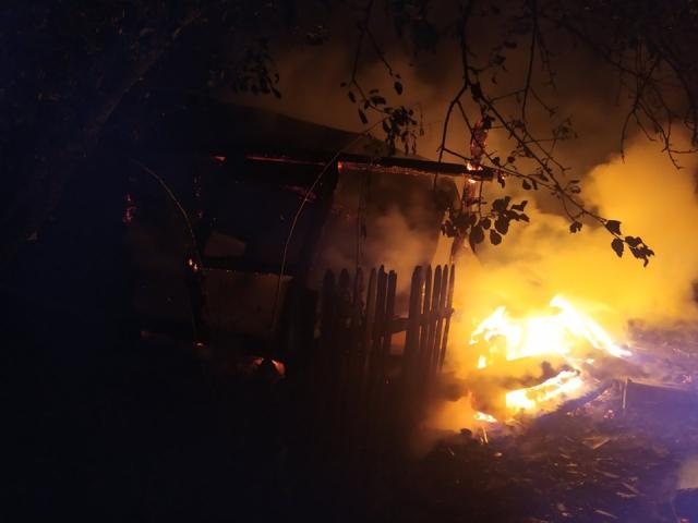 В селі на Волині підпалили три хати-пустки
