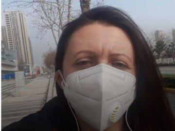Евакуйована з Китаю лучанка прокоментувала протести в Нових Санжарах