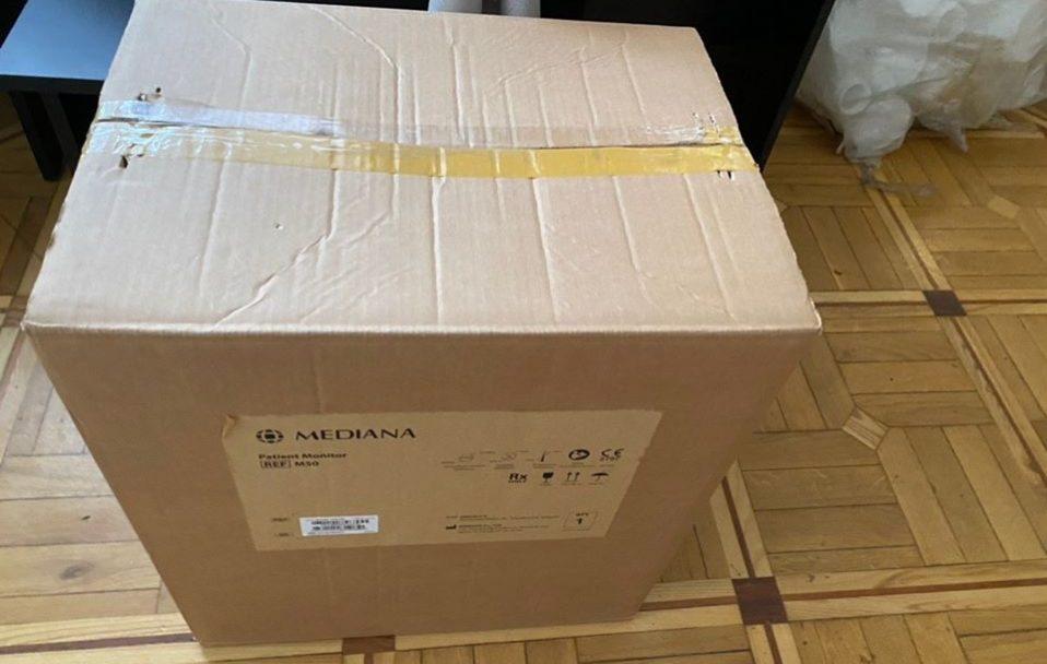 Благодійники передали реанімаційне обладнання Одеській обласній лікарні
