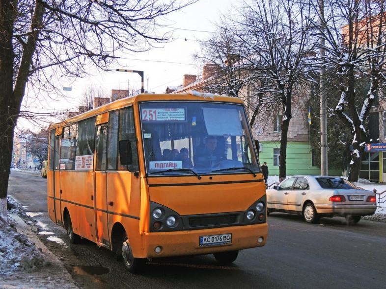З 18 березня перестануть курсувати маршрутки №251