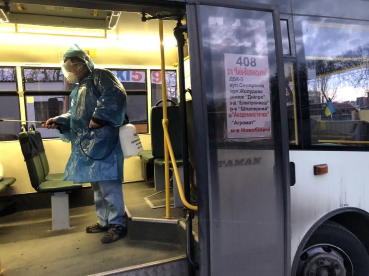 З 18 березня на Волині перестануть курсувати міжміські автобуси