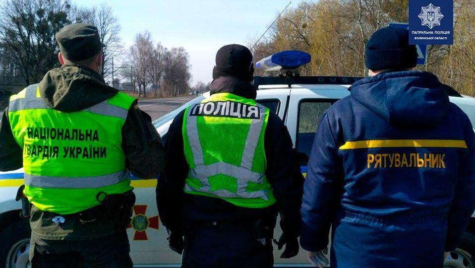 У поліції пояснили, як працюватимуть карантинні пости на Волині