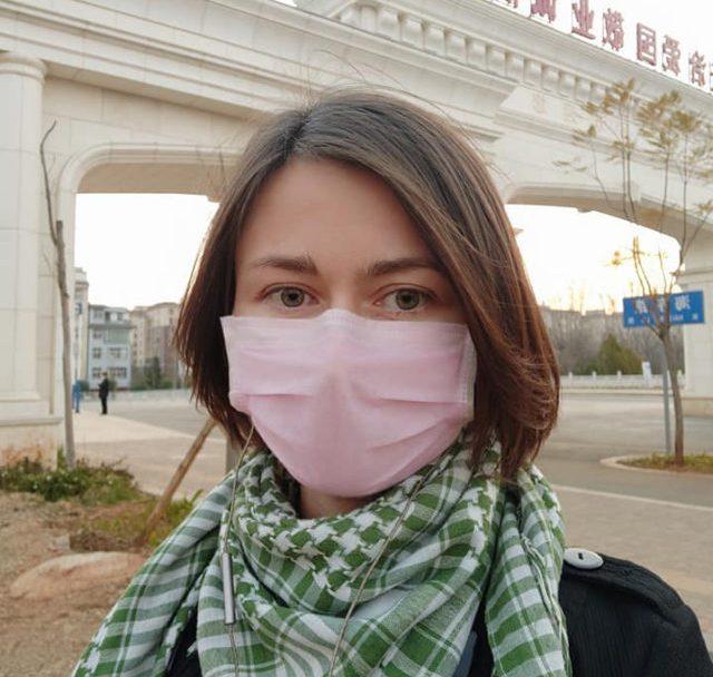 Волинянка розповіла, як у Китаї борються з коронавірусом