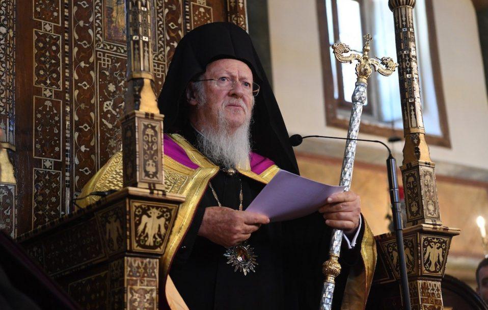 Варфоломій наказав припинити всі служби і обряди в церквах