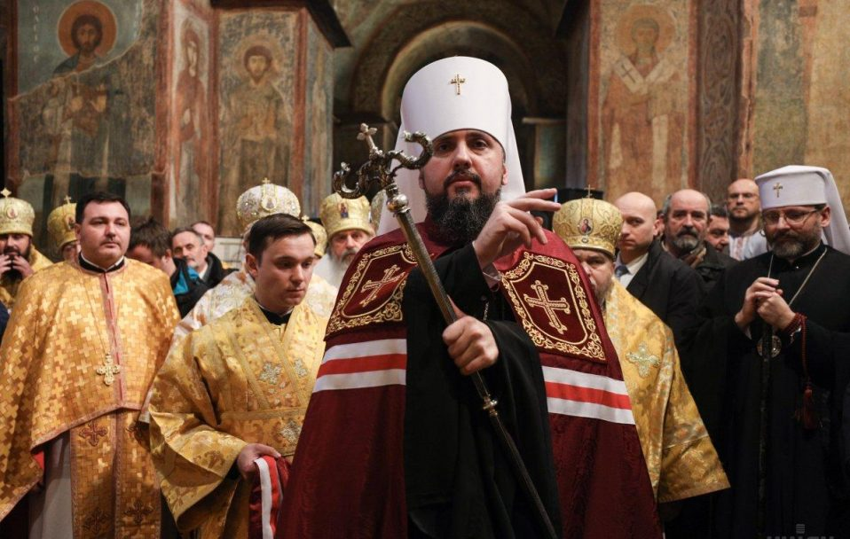 Церква з вами: звернення митрополита Епіфанія щодо коронавірусу