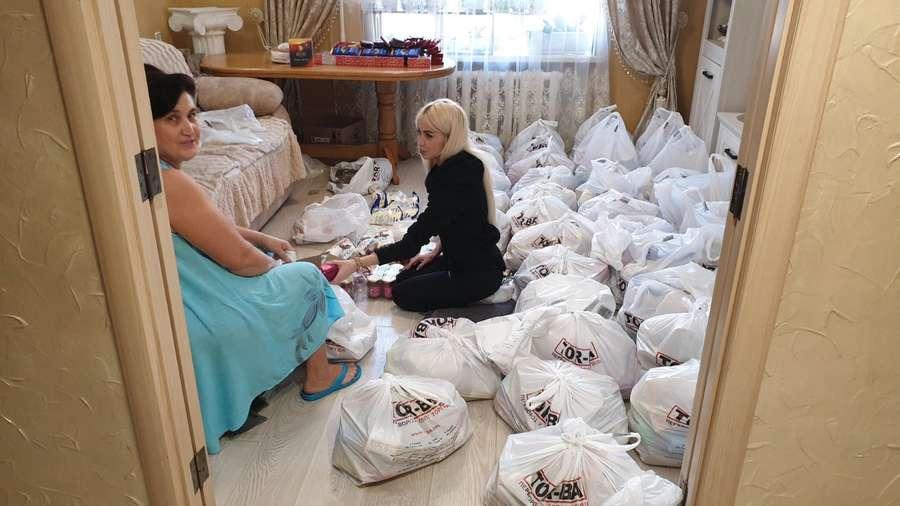 Лучанка закупила 5 тонн продуктів для людей похилого віку. ФОТО