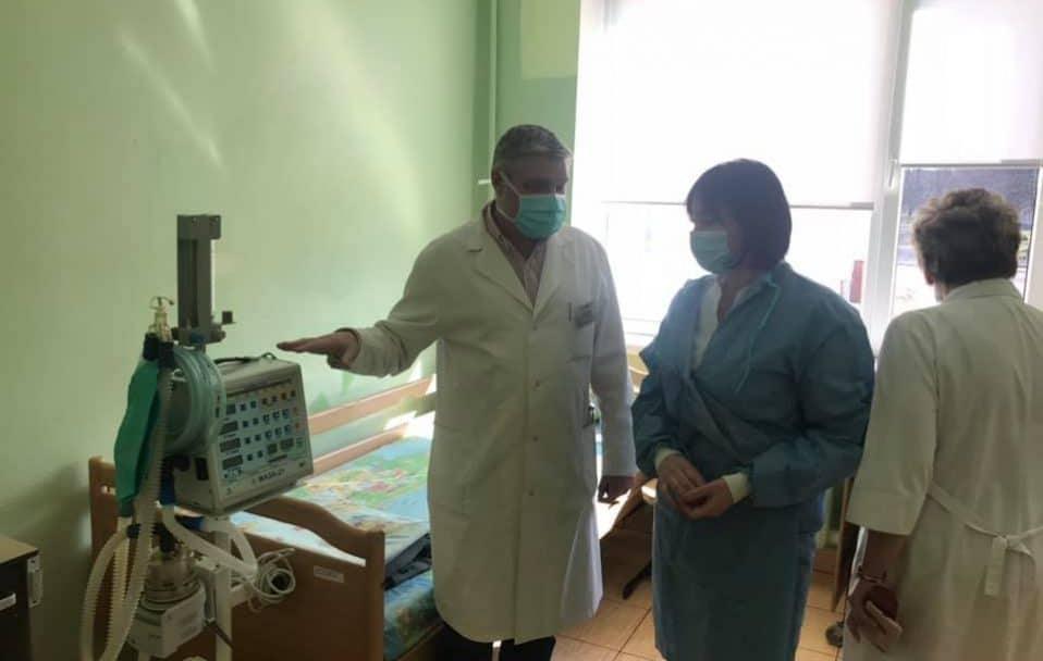 Як Волинська обласна дитяча лікарня готується приймати хворих на коронавірус