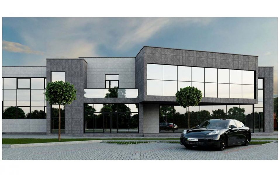 Коли відкриють новий торгово-офісний центр під Луцьком. ФОТО