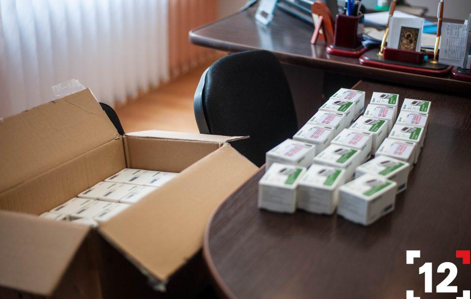 """БФ """"Патріоти Волині"""" передав волинським лікарням 170 пульсоксиметрів"""