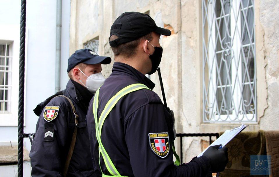 Поліція Волині посилено контролюватиме дотримання карантинних обмежень