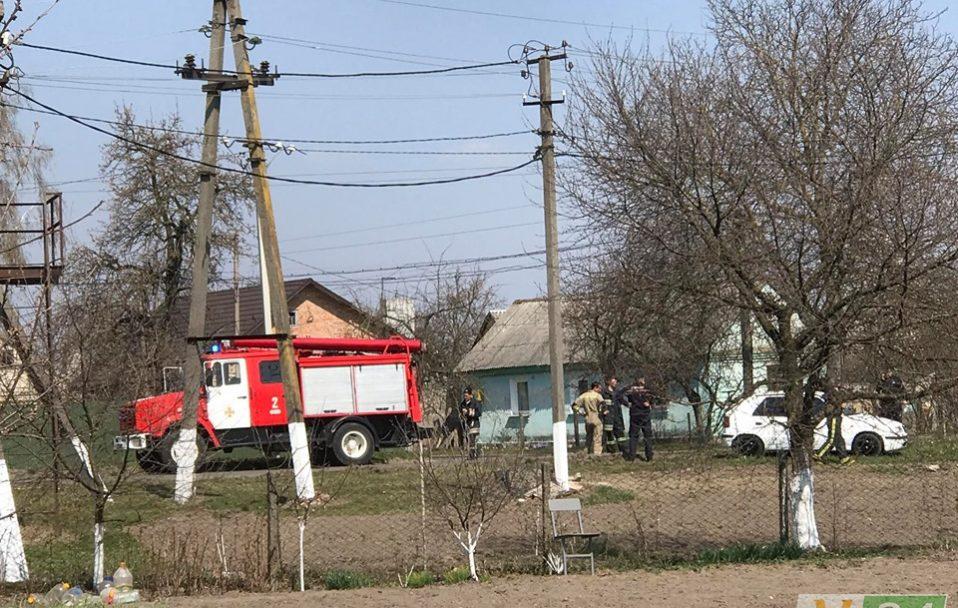 Біля Луцька машина пожежників влетіла в легковик. ФОТО