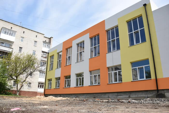 У Луцьку добудовують новий корпус музичної школи №3. ВІДЕО