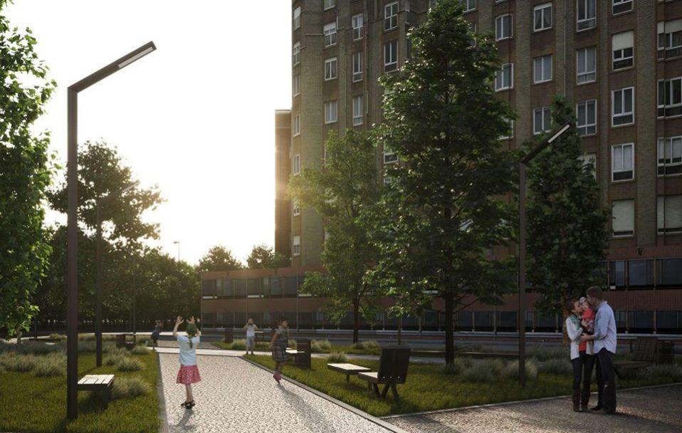 Біля 26 школи в Луцьку облаштують сквер: показали проект. ФОТО