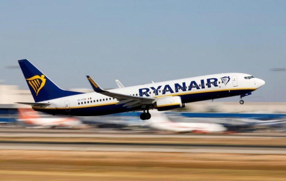 Ryanair планує відновити 40% своїх рейсів вже в липні