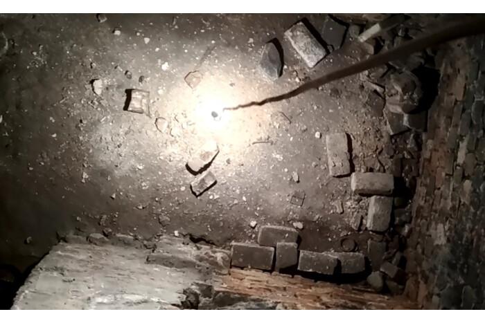 Під Вежею Чарторийських в Луцьку знайшли таємні кімнати