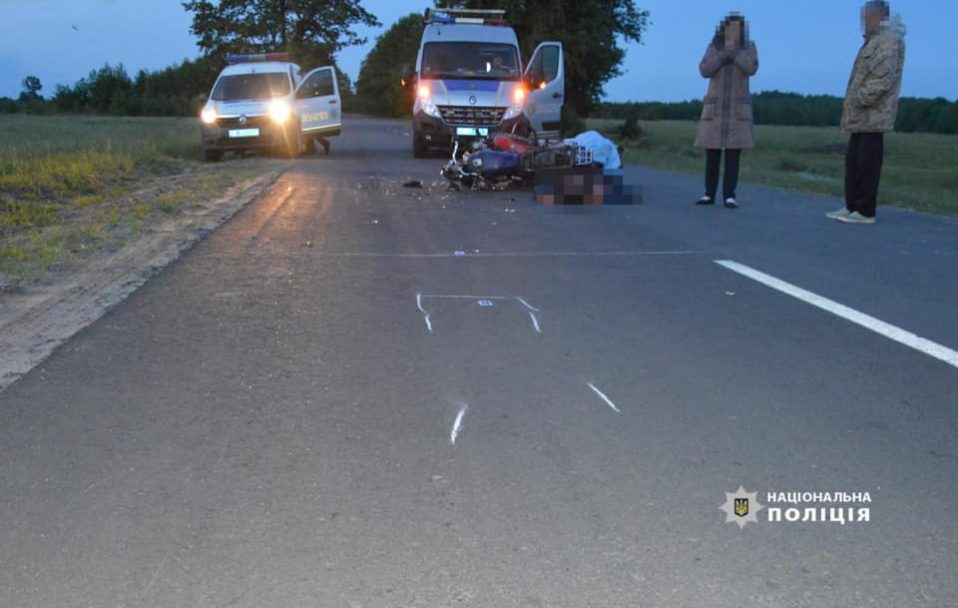 На Волині – смертельна аварія: загинув 58-річний чоловік. ФОТО