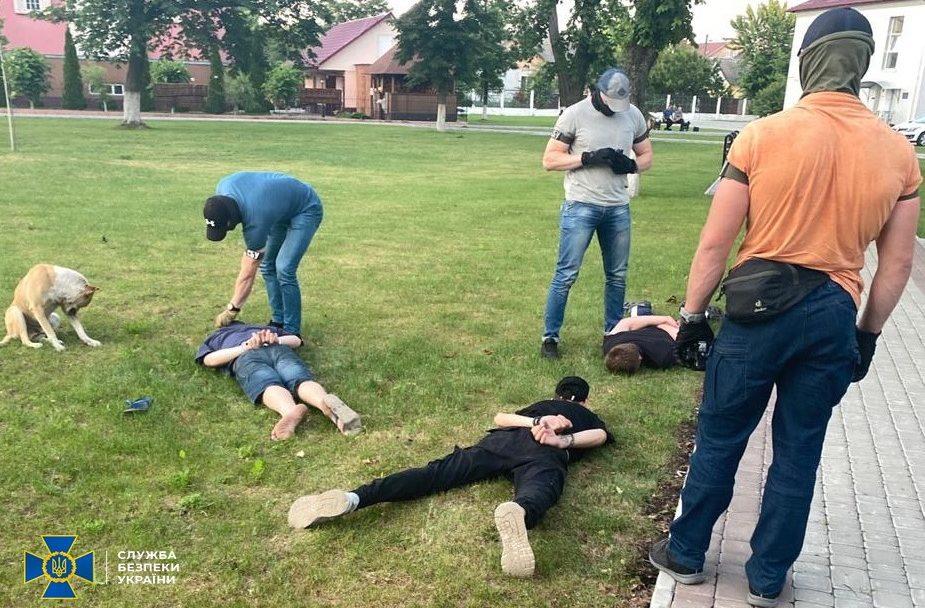 На Волині СБУ затримала банду, яка тероризували населення. ФОТО