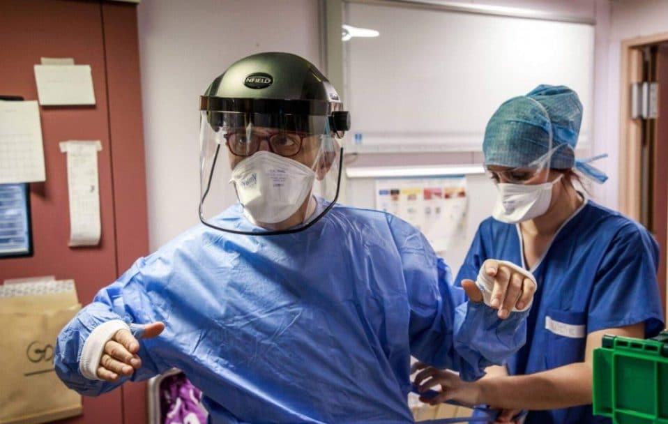 За минулу добу в Україні коронавірус виявили у 103 медиків