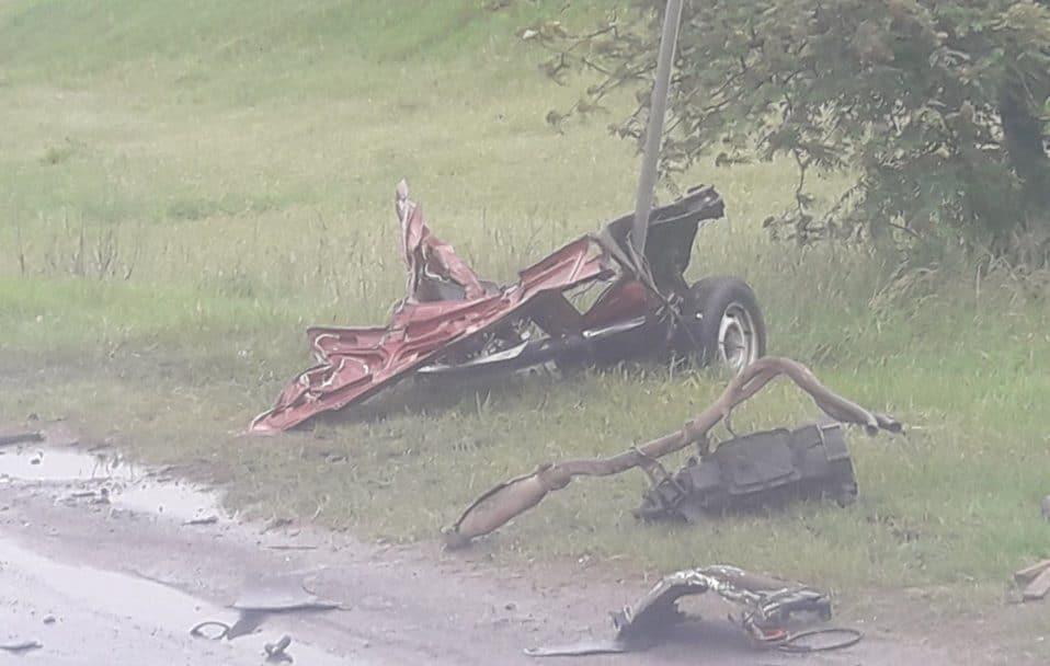 Автотроща біля Луцька: одну з автівок розірвало на шматки. ФОТО