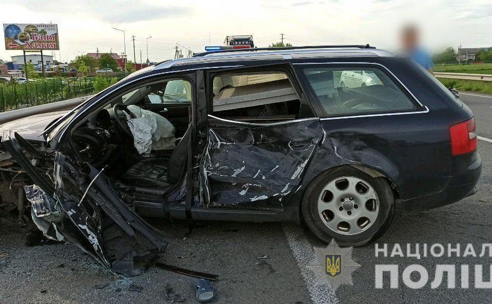 У моторошній ДТП на Рівненщині загинули 4 людини. ФОТО