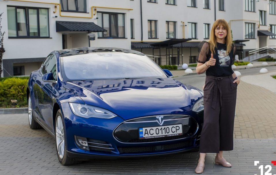 """У Луцьку відкривають сервіс з продажу електрокарів """"Любе Авто"""". Тест-драйв Tesla*"""