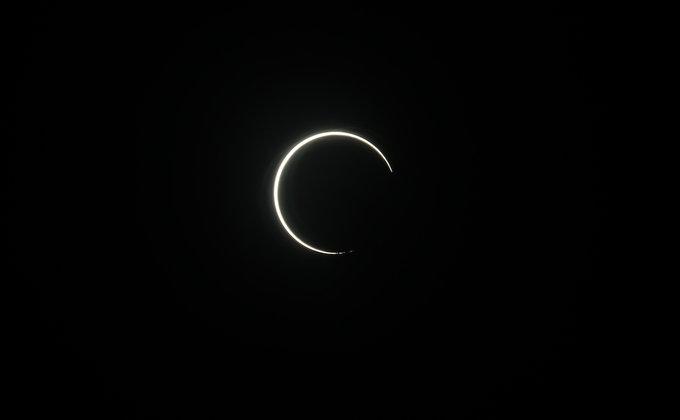Сонячне затемнення 21 червня. ФОТО