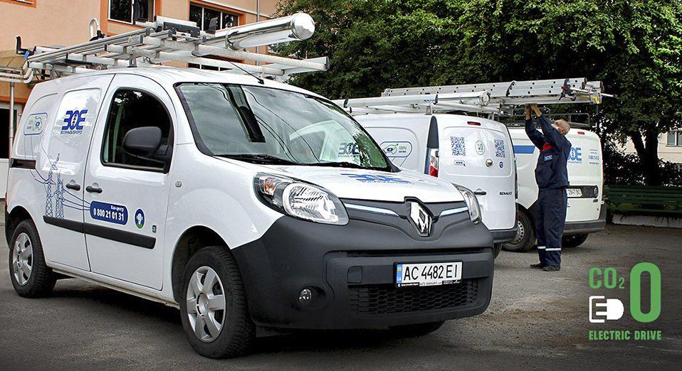 Працівники «Волиньобленерго» їздитимуть на електрокарах
