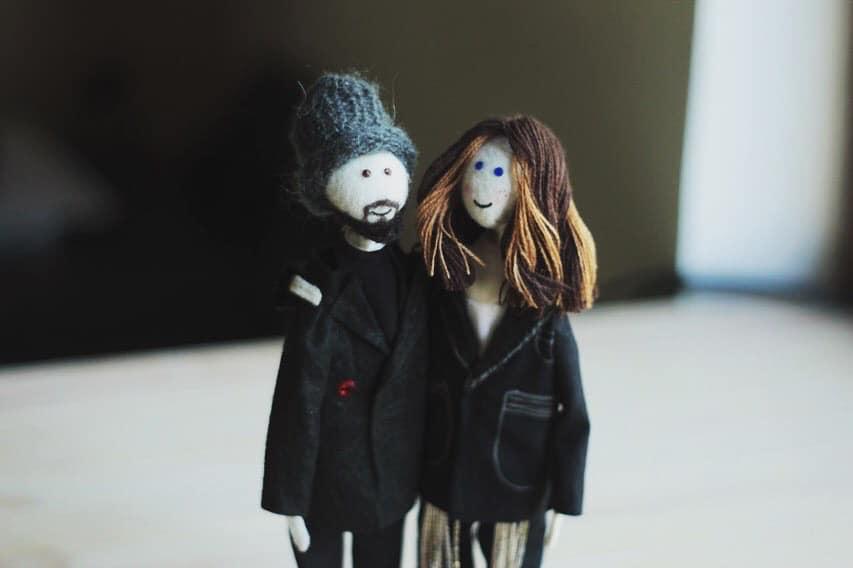 Луцька майстриня зробила ляльку-копію Монатика. ФОТО