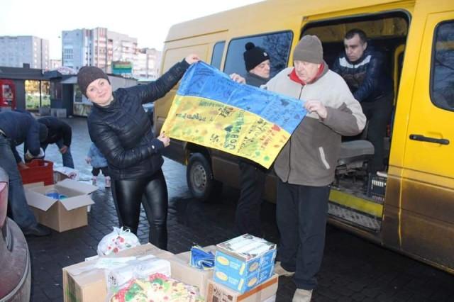 У Луцьку збирають допомогу на Схід: просять принести овочів та фруктів