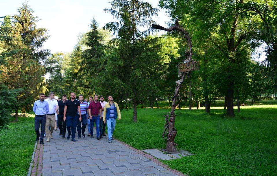 Центральний парк Луцька став прикладом для інших міст Волині. ФОТО