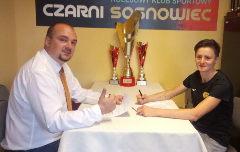 Волинянка підписала контракт із польським футбольним клубом